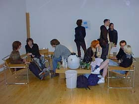 The Marcel Breuer Bierfest And Infopoint, Stanley Picker Gallery 2000